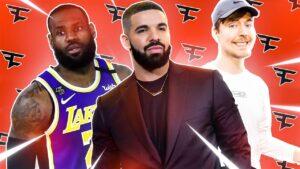 5 FAMOUS FaZe Clan Celebrity Fans... (Drake, David Dobrik,
