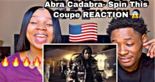 AMERICANS REACTING TO UK RAPPER | Abra Cadabra - Spin this