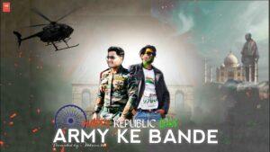 ARMY KE BANDE RAP SONG - FT- HV - OFFICIAL MUSIC VIDEO | Rap
