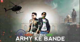 ARMY KE BANDE RAP SONG - FT- HV - OFFICIAL MUSIC VIDEO | Rap