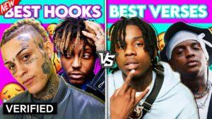 BEST RAP HOOKS vs. BEST RAP VERSES!