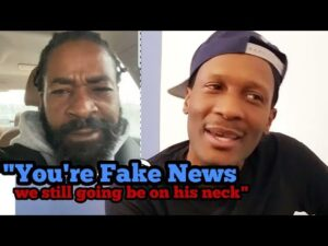 *BREAKING BREAKING* Outsidaz Say Evolve is FAKE NEWS! AND