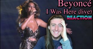 Beyoncé - I Was Here Reaction (Live at Roseland)