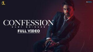 Confession : Sabi Bhinder - The Kidd | Latest Punjabi Song