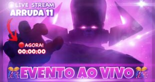 EVENTO AO VIVO AGORA NO FORTNITE // ARRUDA 11