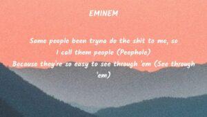 Eminem ft. White Gold - Zeus (Lyrics)