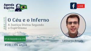 Estudo: O Céu e o Inferno #08 - Os Anjos   Leonardo Arruda