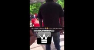Gucci mane kicks out a snitch