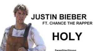 Justin Bieber ft  Chance The Rapper (LYRICS)