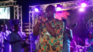 K1 DE ULTIMATE DISHING OUT NEW MUSIC AT STONE CAFE, IBADAN