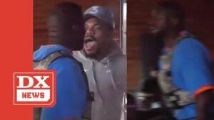 """Kanye West Screams At Chance The Rapper """"SIT YO A**"""