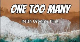 Keith Urban - One Too Many ft. Pink (Lyrics)