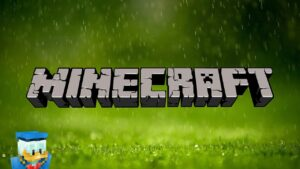 MINECRAFT • Relaxing Music with Soft Rain 💧