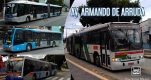 Movimentação de Ônibus #176 - Avenida Eng. Armando de Arruda