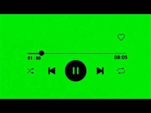 New Music Icon GreenScreen Spotify MusicAvee Player