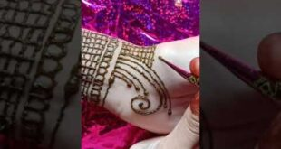 New mehendi art / valo lagle like and subscribe