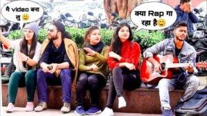 Randomly Rap Singing-2|Amazing Heartbeat Guitar Mashup Delhi
