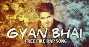 Rapper Abhi- Gyan Bhai || Free Fire Rap Song || Tribute to