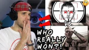 Rapper Reacts to Eminem Killshot vs. MGK Rap Devil!! | WHO