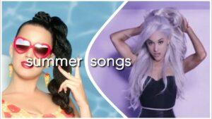 SUMMER SONGS (+ SPOTIFY PLAYLIST)