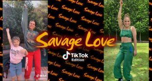 Savage Love Official Music Video - TikTok edition