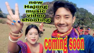Second day our shooting/new Hajong music video
