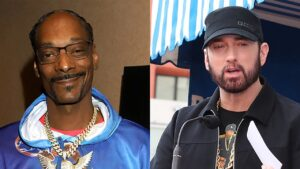 Snoop Dogg Intimidates Eminem On Eminem's Fan Page