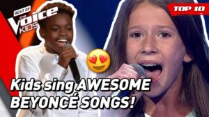 TOP 10   Beautiful BEYONCÉ songs covered in The Voice Kids!