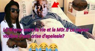 Urgence : Lil Wayne entre la vie et la M0r.t! Le rapeur