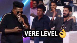 Vaathi Raid Song Rapper Performance at Master Pre Release