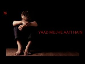 YAAD MUJHE AATI HAIN !! LOVE RAP !! LYRICS VIDEO !!