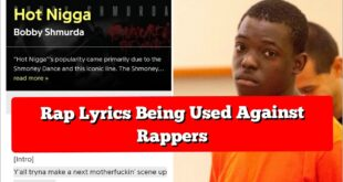 courts are using rapper lyrics against them
