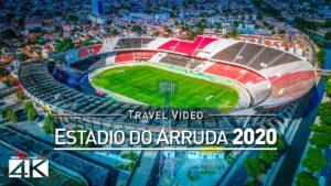 【4K】Estadio do Arruda from Above - BRAZIL 2020 | Cinematic