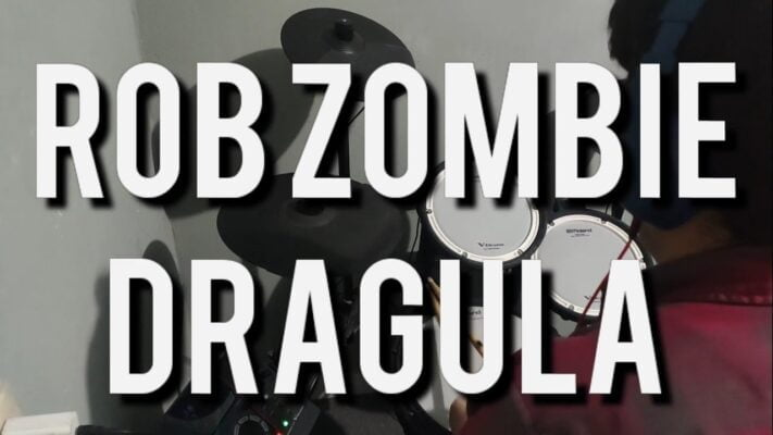 Rob Zombie - Dragula (Drum Cover)