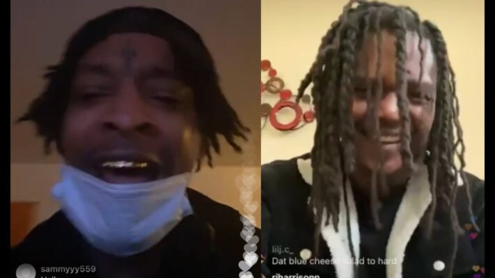 21 Savage Young Nudy ROAST Jeezy After Gucci Mane Plays