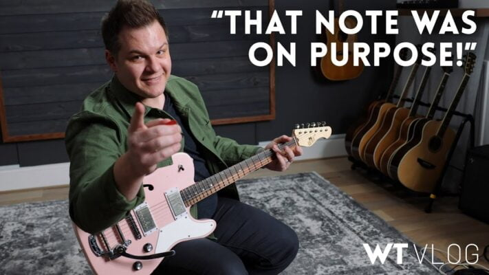 All the notes we play in this video are on purpose // WT