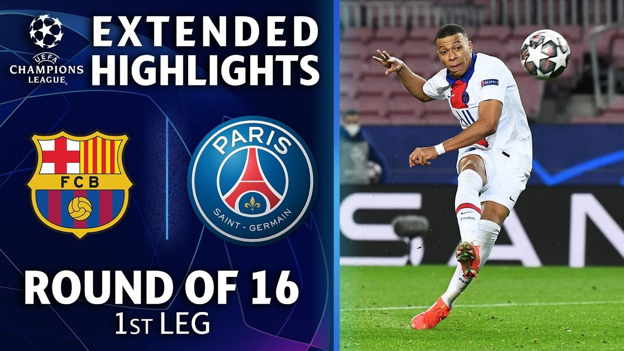 Barcelona vs. Paris Saint-Germain: Extended Highlights | UCL