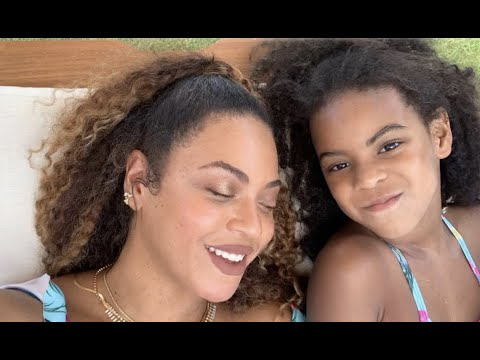 Beyonce Reveals New Photos Of Her 3 Children