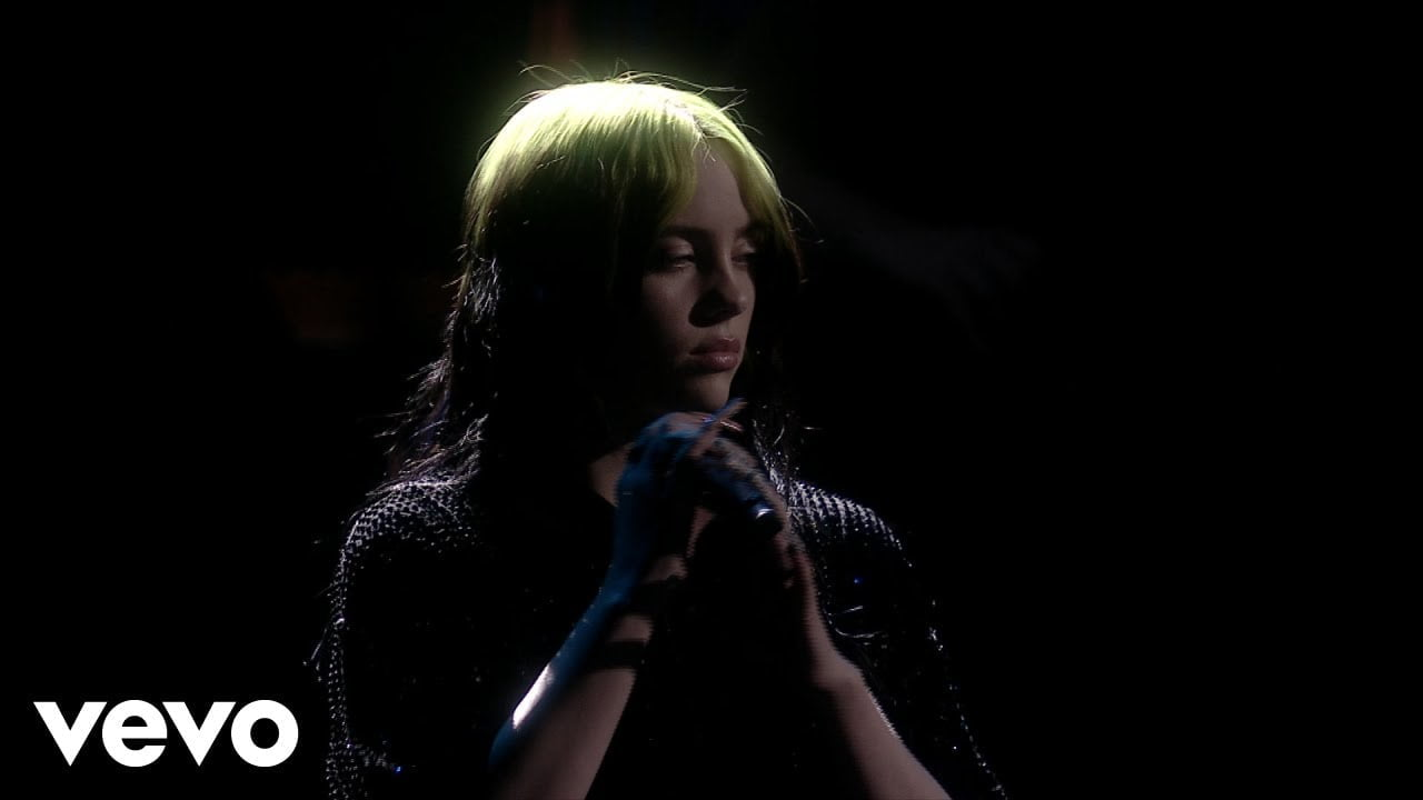Billie Eilish - No Time To Die (Live From The BRIT Awards,