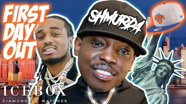 Bobby Shmurda & Quavo Link with Icebox in New York on