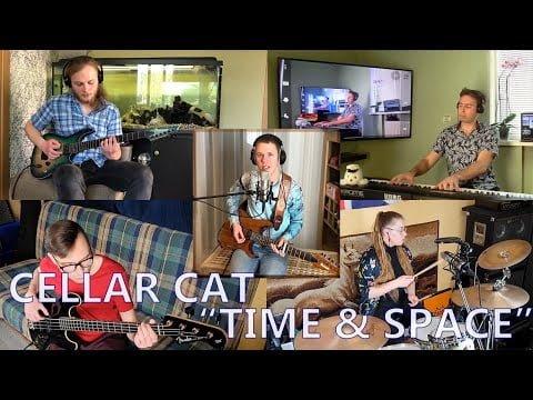 Cellar Cat - Time & Space (quarantine music video)