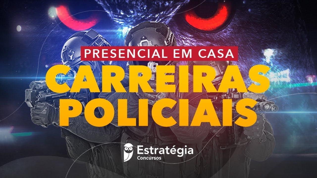 Concurso PF/PRF - Presencial em Casa - Redação - Prof.