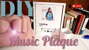 *DETAILED* How To: DIY Spotify Music Plaque | *Viral TIKTOK*