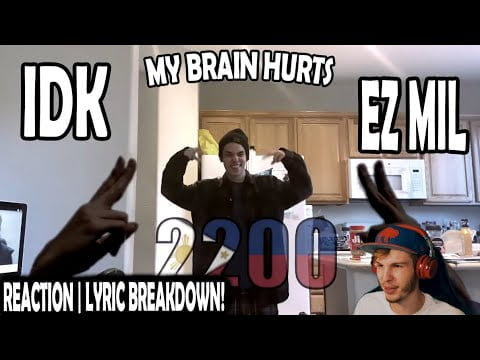 EZ MIL - IDK (REACTION | LYRIC BREAKDOWN!)