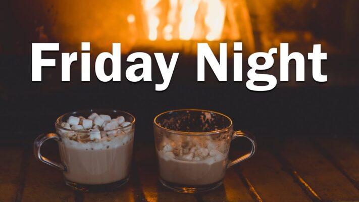 Friday Night Jazz - Smooth Jazz Sax - Late Night Music