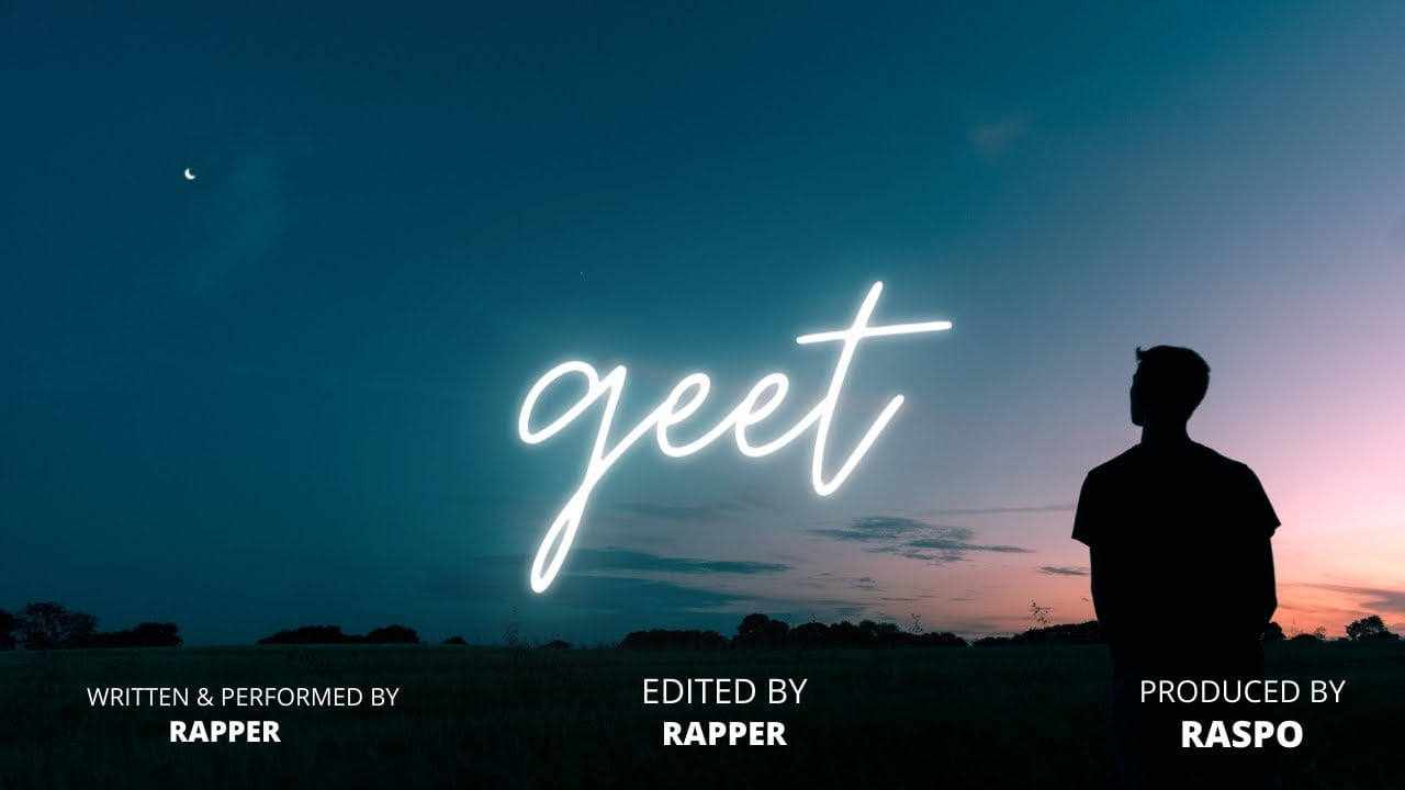 Geet - RAPPER (Prod. Raspo) | Official Lyric Video | Latest
