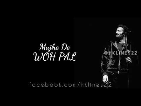 Glimpse of Atif Aslam new song Wo Pal | releasing 15 April