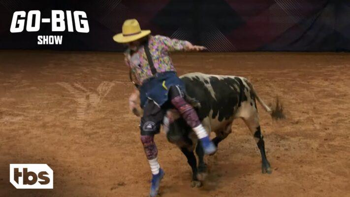 Go Big Show: Insane Bull Fighter Shocks the Judges (Clip)  