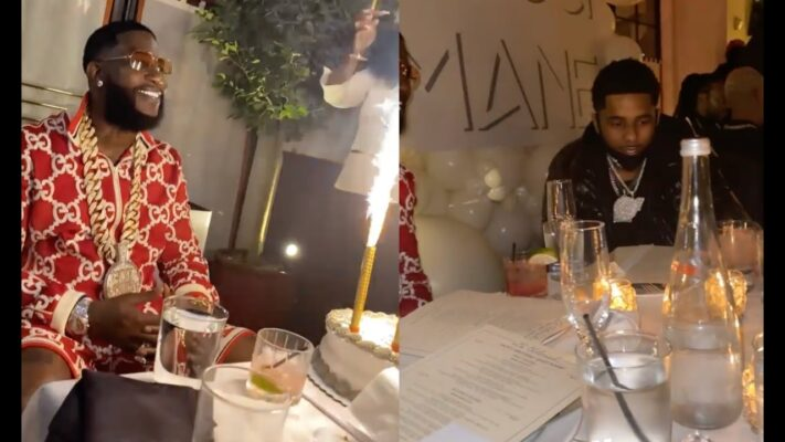 Gucci Mane Has Birthday Dinner w All His Rapper Friends Lil