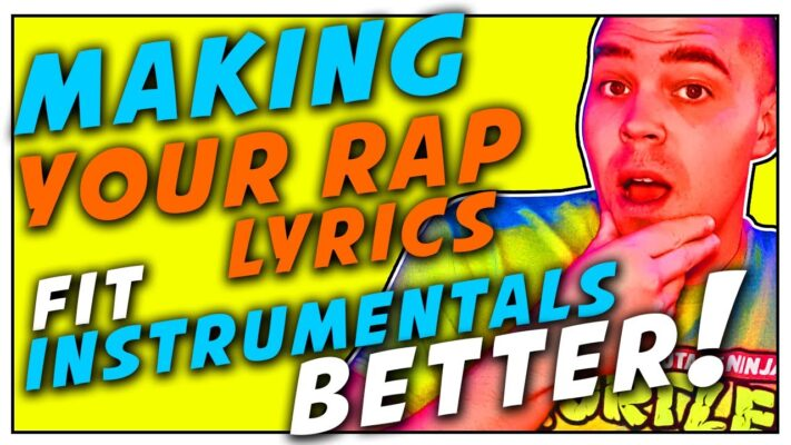 How To Make Your Rap lyrics Fit Instrumentals Better! -